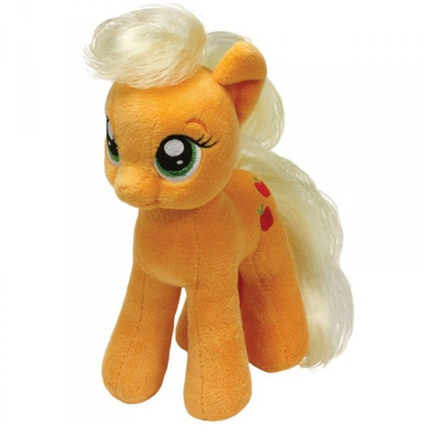 Peluche TY Mon Petit Poney Small : Apple Jack - BeanieBoos-TY41013