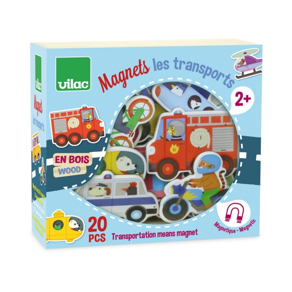 Magnets Les transports - Vilac-8028