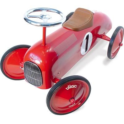 porteur voiture en m tal jeux et jouets vilac avenue des jeux. Black Bedroom Furniture Sets. Home Design Ideas