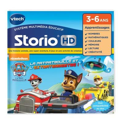Jeu pour console de jeux storio pat 39 patrouille jeux et jouets vtech avenue des jeux - Histoire des consoles de jeux ...