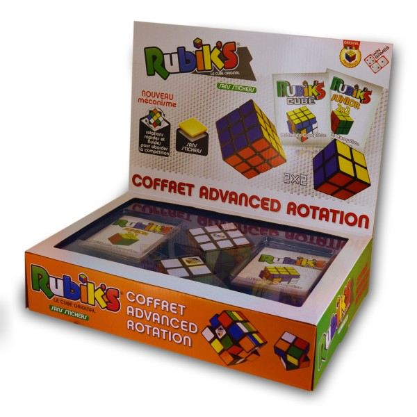 Rubik's Cube : Coffret Advanced Rotation - WinGames-0734