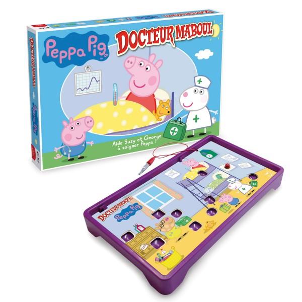 Docteur maboul peppa pig jeux et jouets winning moves avenue des jeux - Fusee peppa pig ...