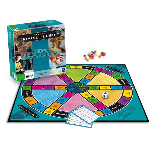 Trivial Pursuit Histoire de France - Winning-0345