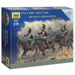 Figurines Militaires : Dragons Russes à cheval 1812-1814